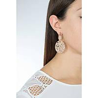 boucles d'oreille femme bijoux Sagapò Flower SFL23