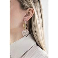 boucles d'oreille femme bijoux Sagapò Graffiti SGF21