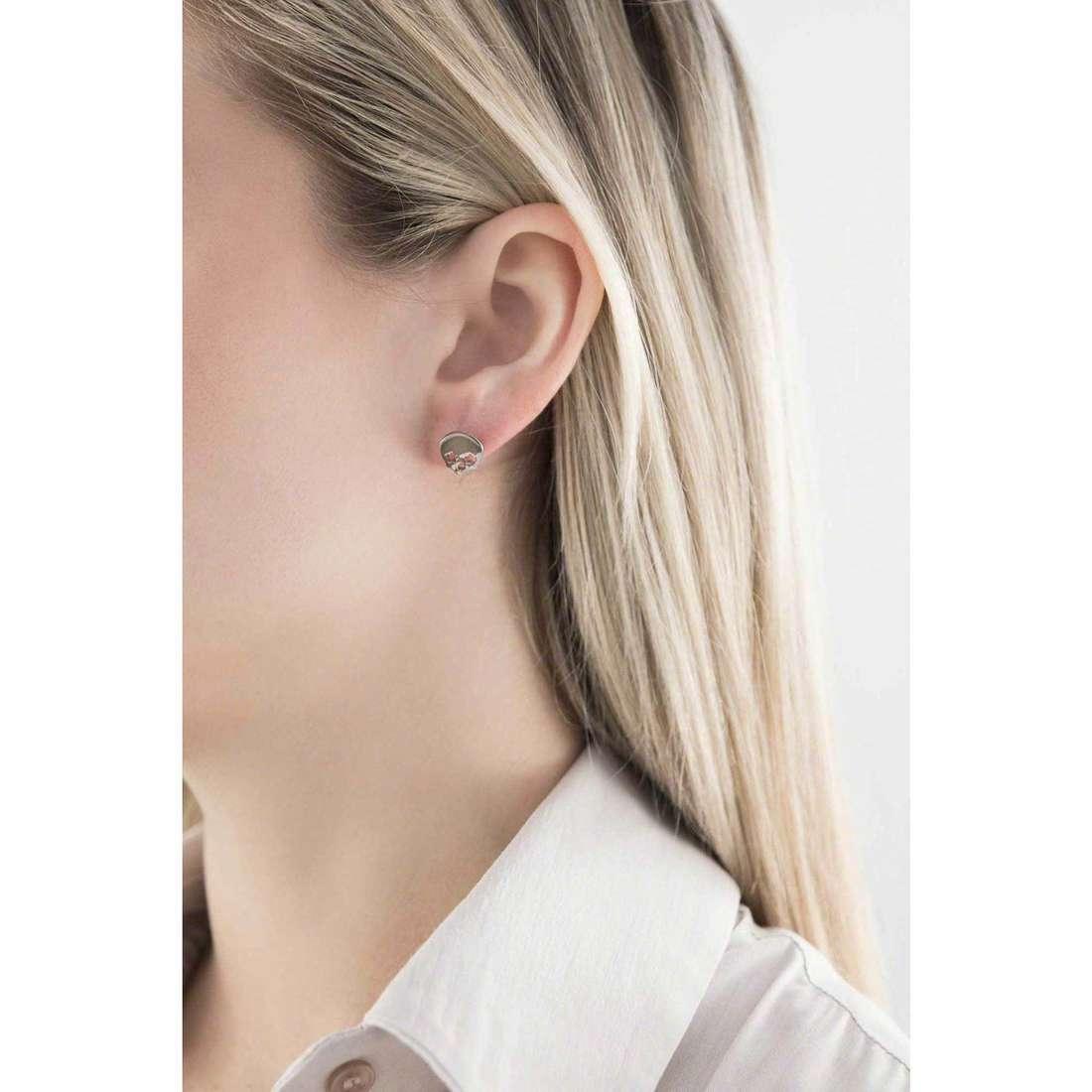 Sagapò boucles d'oreille Hamlet femme SHM22 indosso