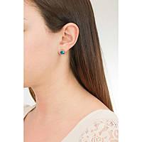 boucles d'oreille femme bijoux Sagapò Stardust SAGAPOSST22