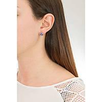 boucles d'oreille femme bijoux Sagapò Stardust SAGAPOSST23