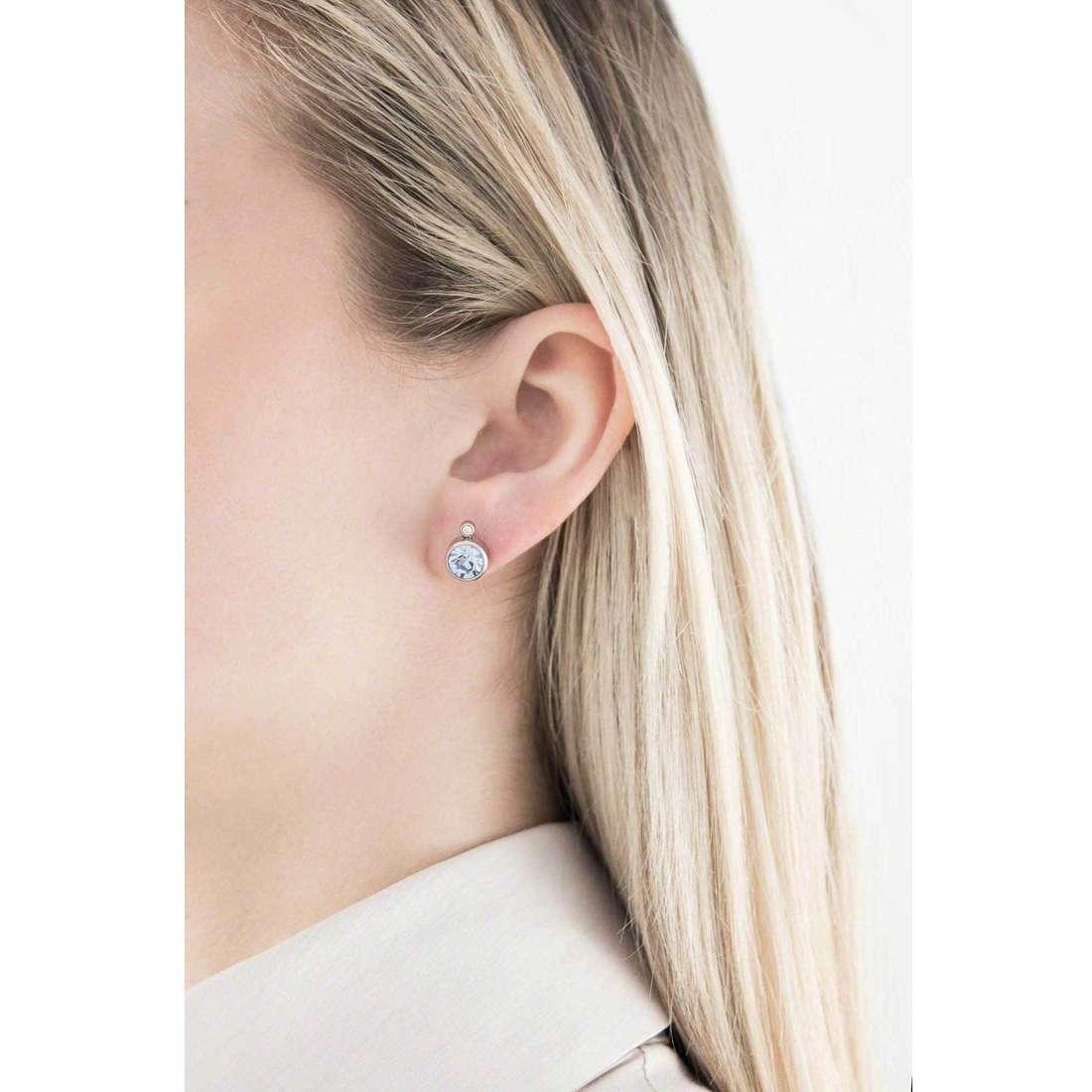 Sagapò boucles d'oreille Stardust femme SAGAPOSST24 indosso