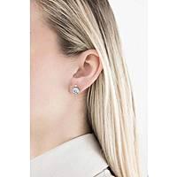 boucles d'oreille femme bijoux Sagapò Stardust SAGAPOSST24