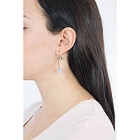 boucles d'oreille femme bijoux Skagen Sea Glass SKJ0843040