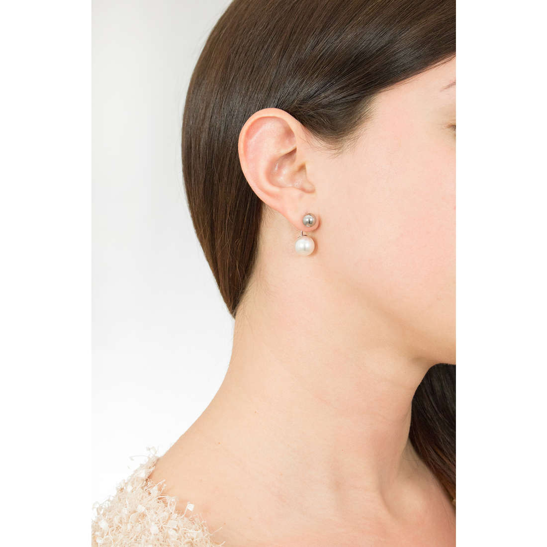 Skagen boucles d'oreille Spring 2016 femme SKJ0779040 indosso