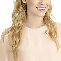 boucles d'oreille femme bijoux Swarovski Circle 5350653