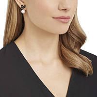 boucles d'oreille femme bijoux Swarovski Iconic Swan 5193949
