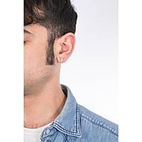 boucles d'oreille unisex bijoux Cesare Paciotti JPOR0082B