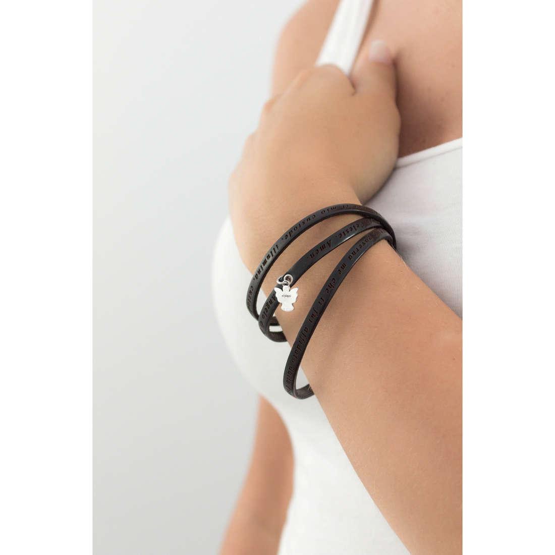 Amen bracciali Angelo di Dio donna AS-ADIT02-57 indosso