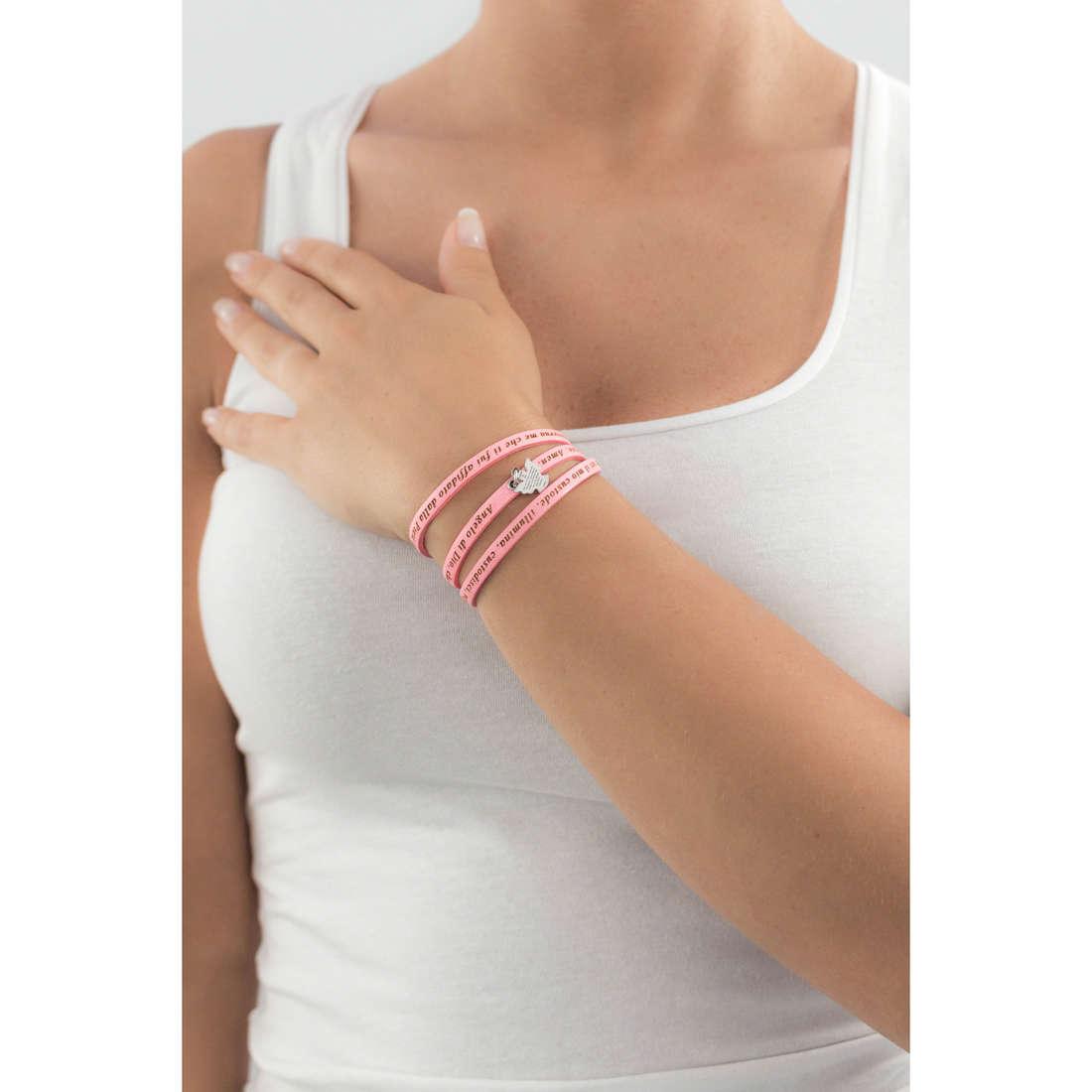 Amen bracciali Angelo di Dio donna AS-ADIT04-48 indosso