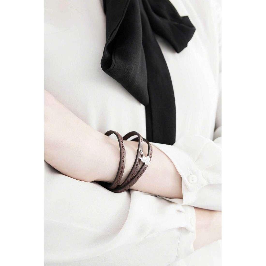 Amen bracciali Angelo di Dio donna AS-ADIT05-54 indosso