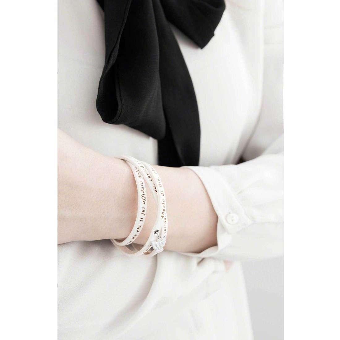 Amen bracciali Angelo di Dio donna AS-ADIT07-54 indosso
