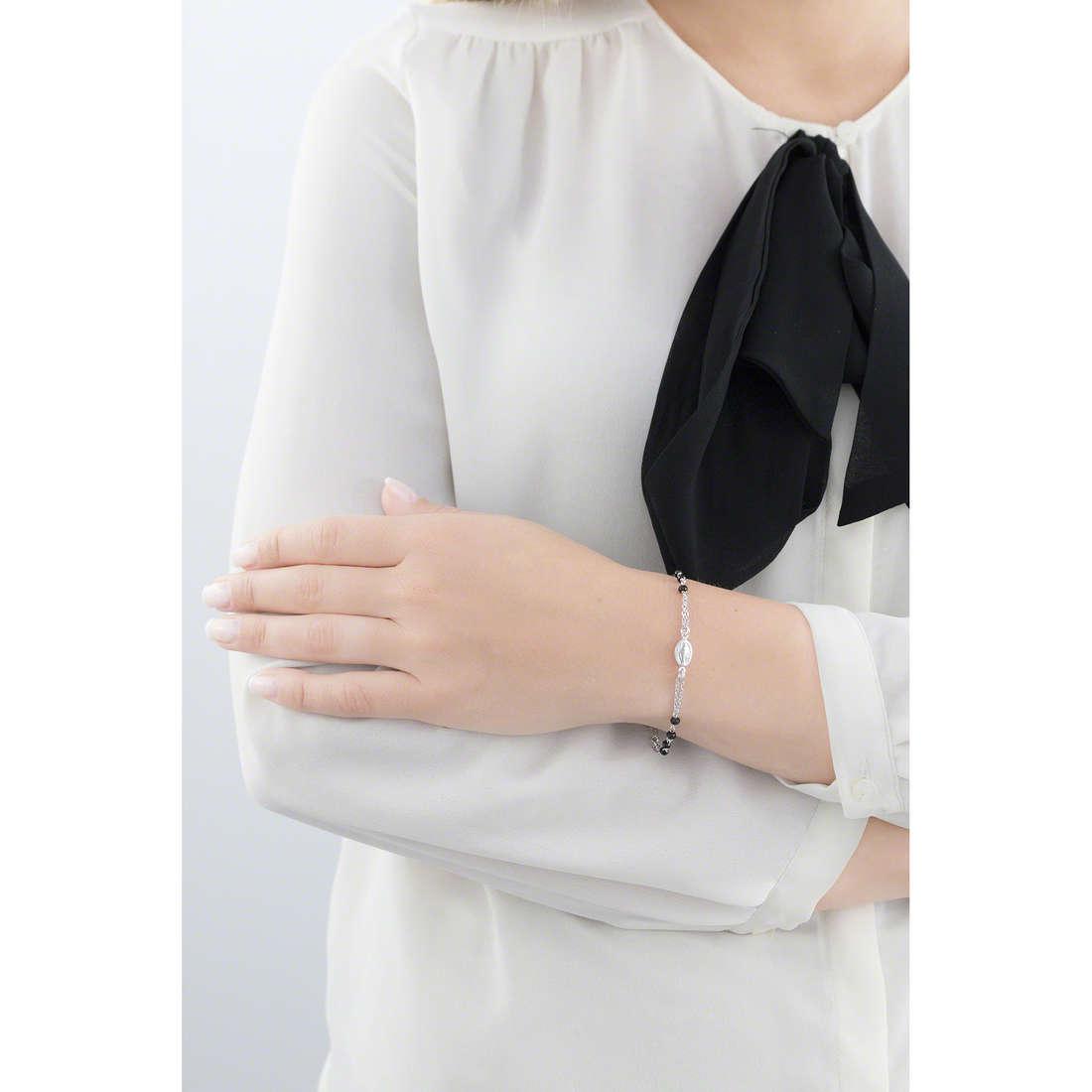 Amen bracciali Rosario donna BROBNZ3 indosso