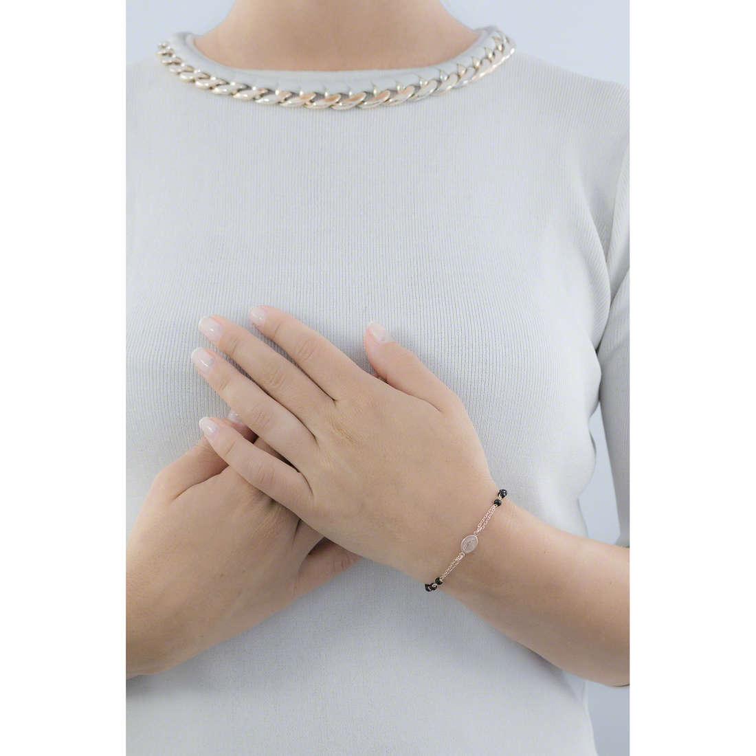 Amen bracciali Rosario donna BRORN3 indosso