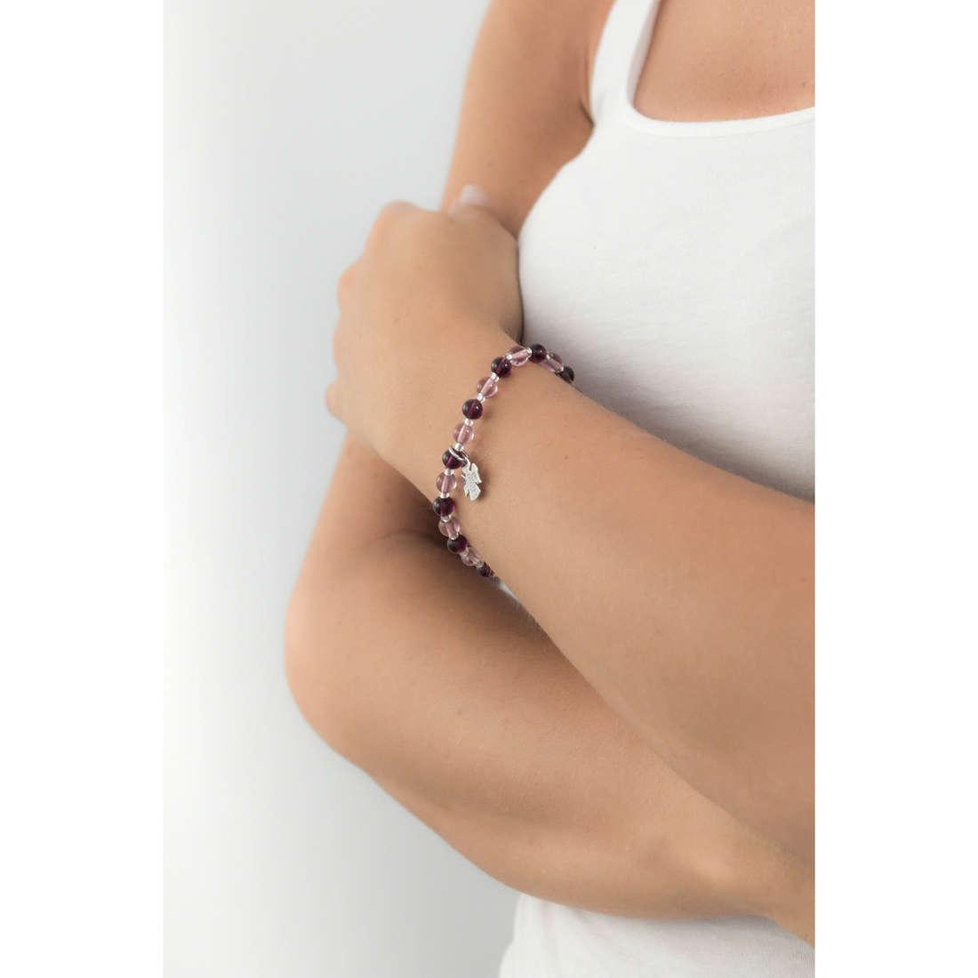 Amen bracciali Perle Murano donna AD6VV indosso
