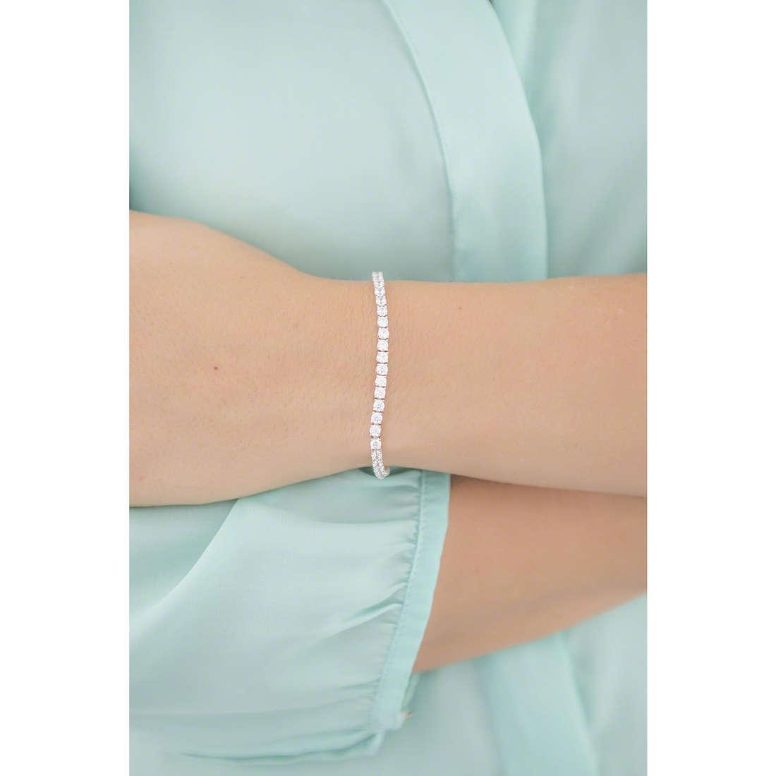 Bliss bracciali Fili D'Argento donna 20070319 indosso