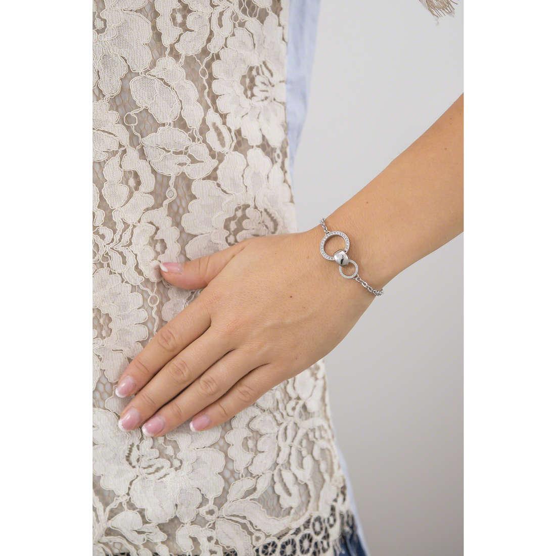 Breil bracciali Breilogy donna TJ1688 indosso