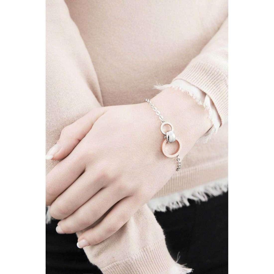 Breil bracciali Breilogy donna TJ1689 indosso
