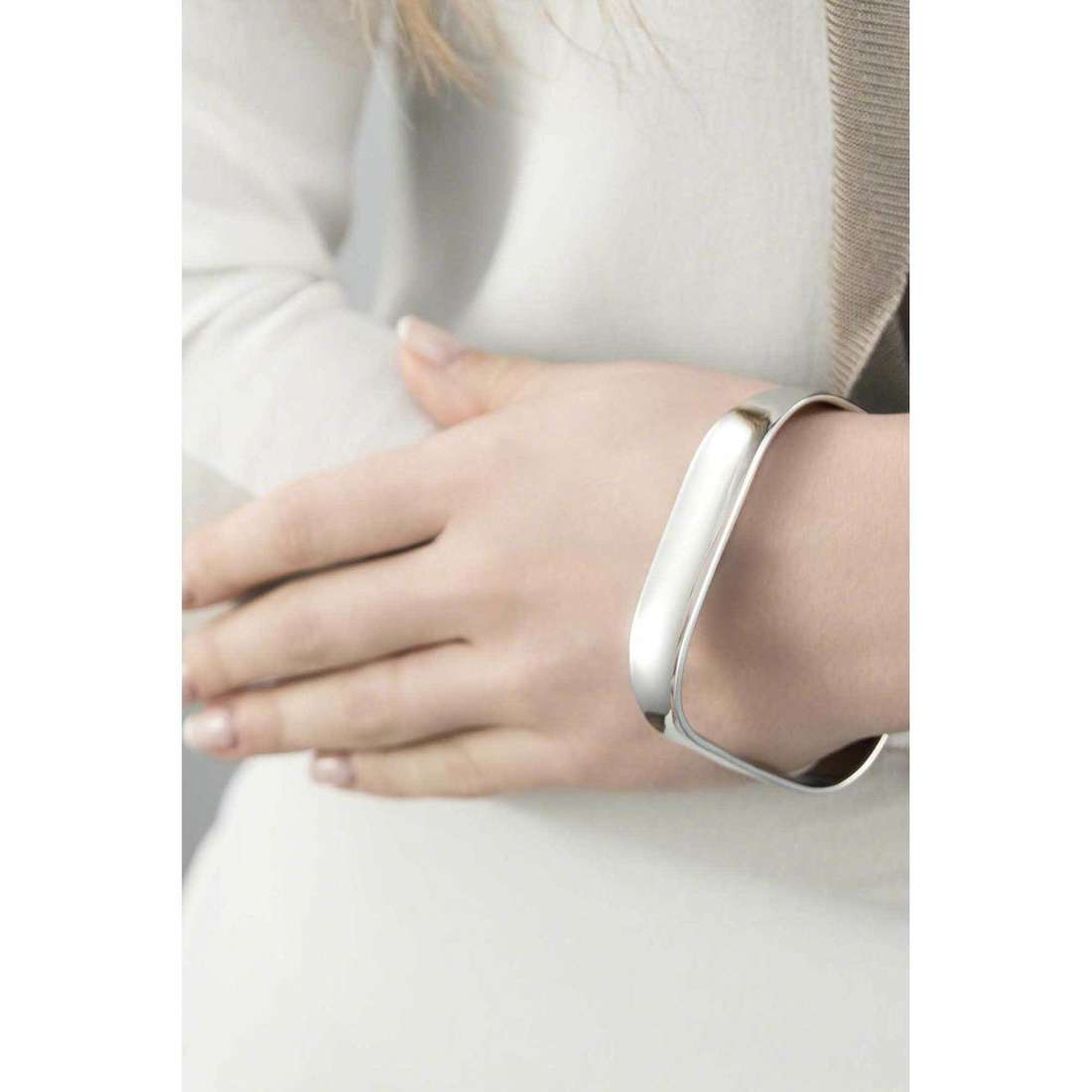 Breil bracciali Liquid donna TJ1877 indosso