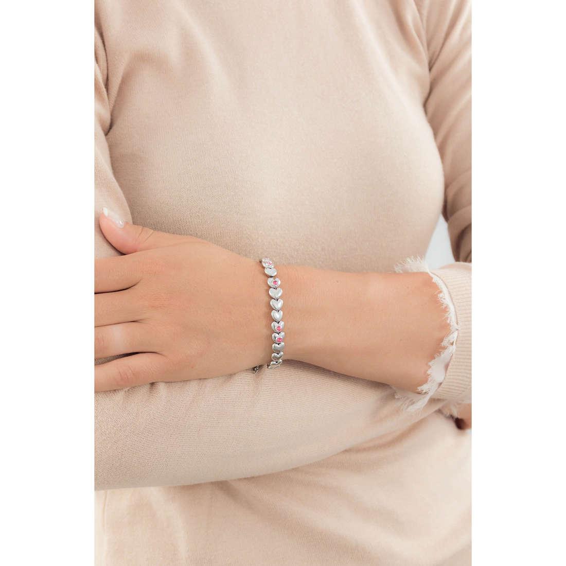 Breil bracciali Love Around donna TJ1706 indosso