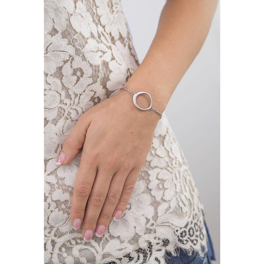 Breil bracciali Mezzanotte donna TJ1899 indosso