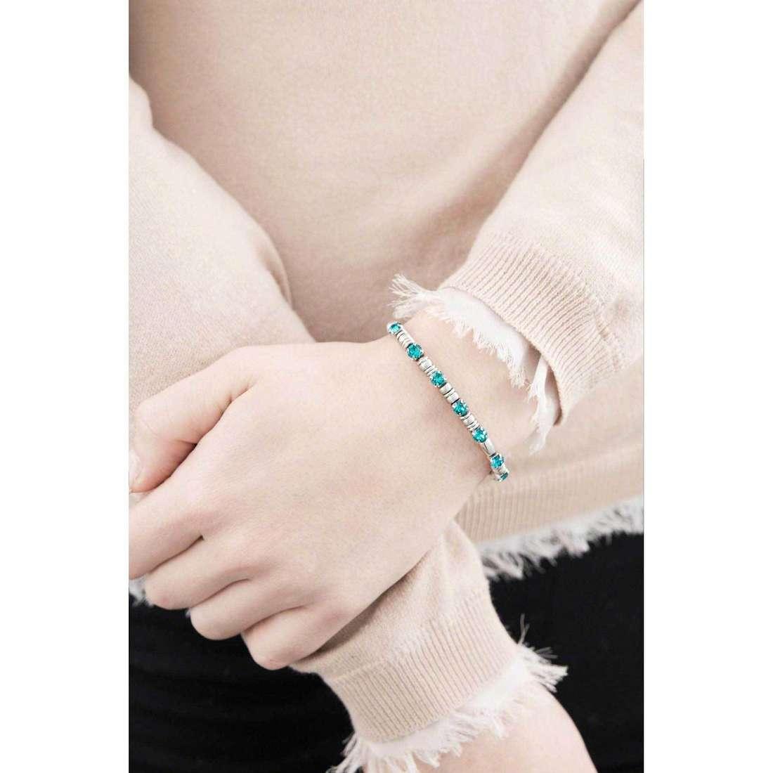 Breil bracciali Rolling Diamonds donna TJ1603 indosso