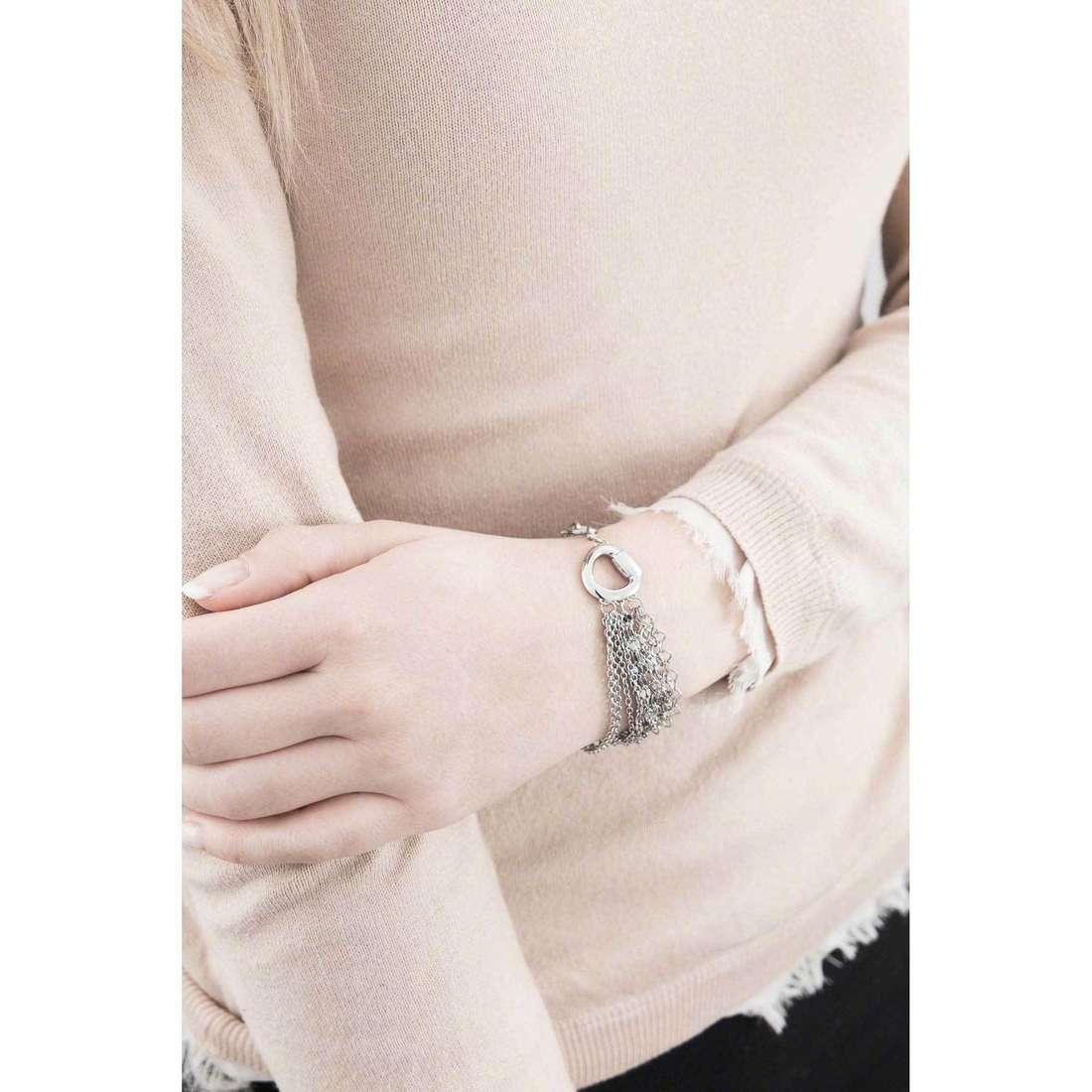 Breil bracciali SkyFall donna TJ1475 indosso