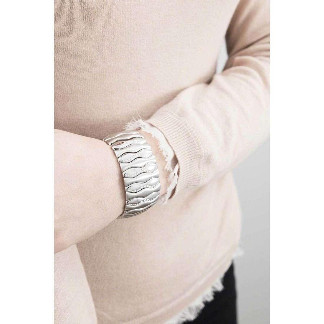 Breil bracciali Sound donna TJ1586 indosso
