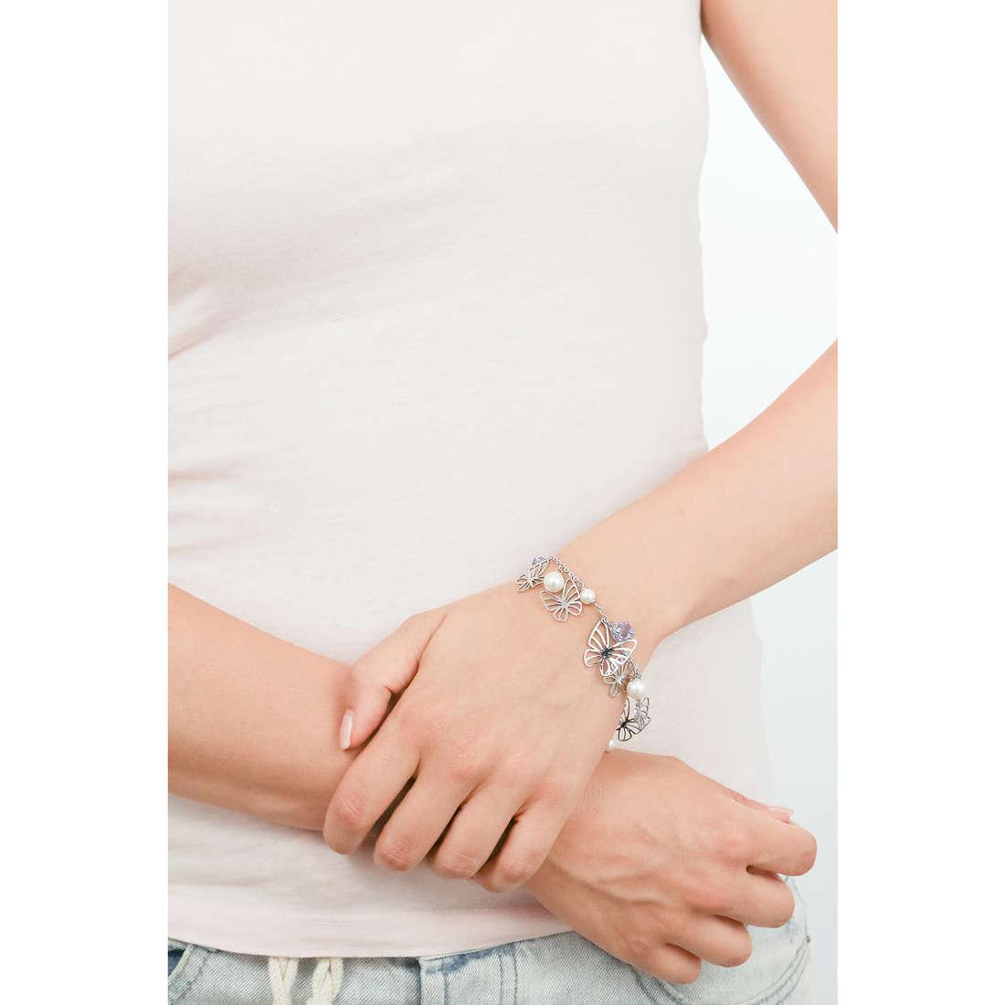 Brosway bracciali Charmant donna BCM12 indosso