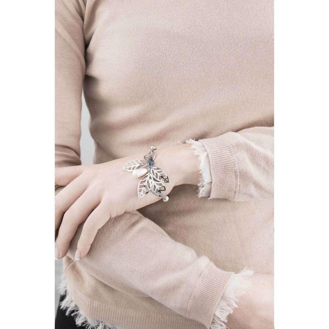Brosway bracciali Leaves donna BLS12 indosso