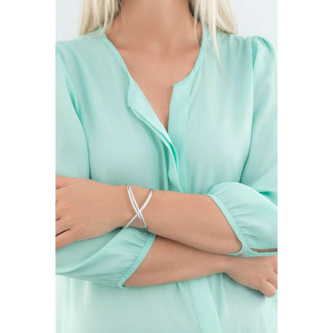 Brosway bracciali Ribbon donna BBN11 indosso