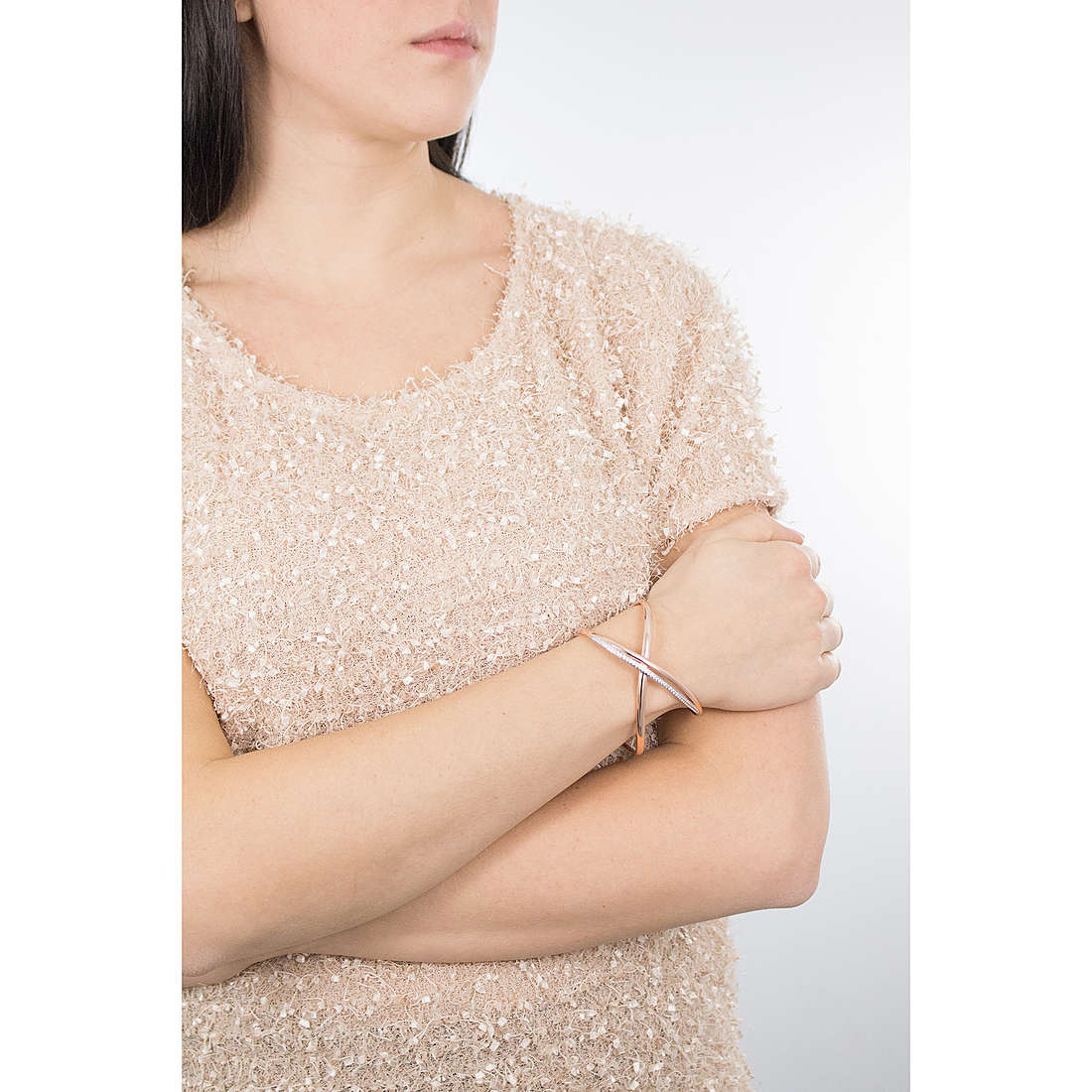 Brosway bracciali Ribbon donna BBN12 indosso