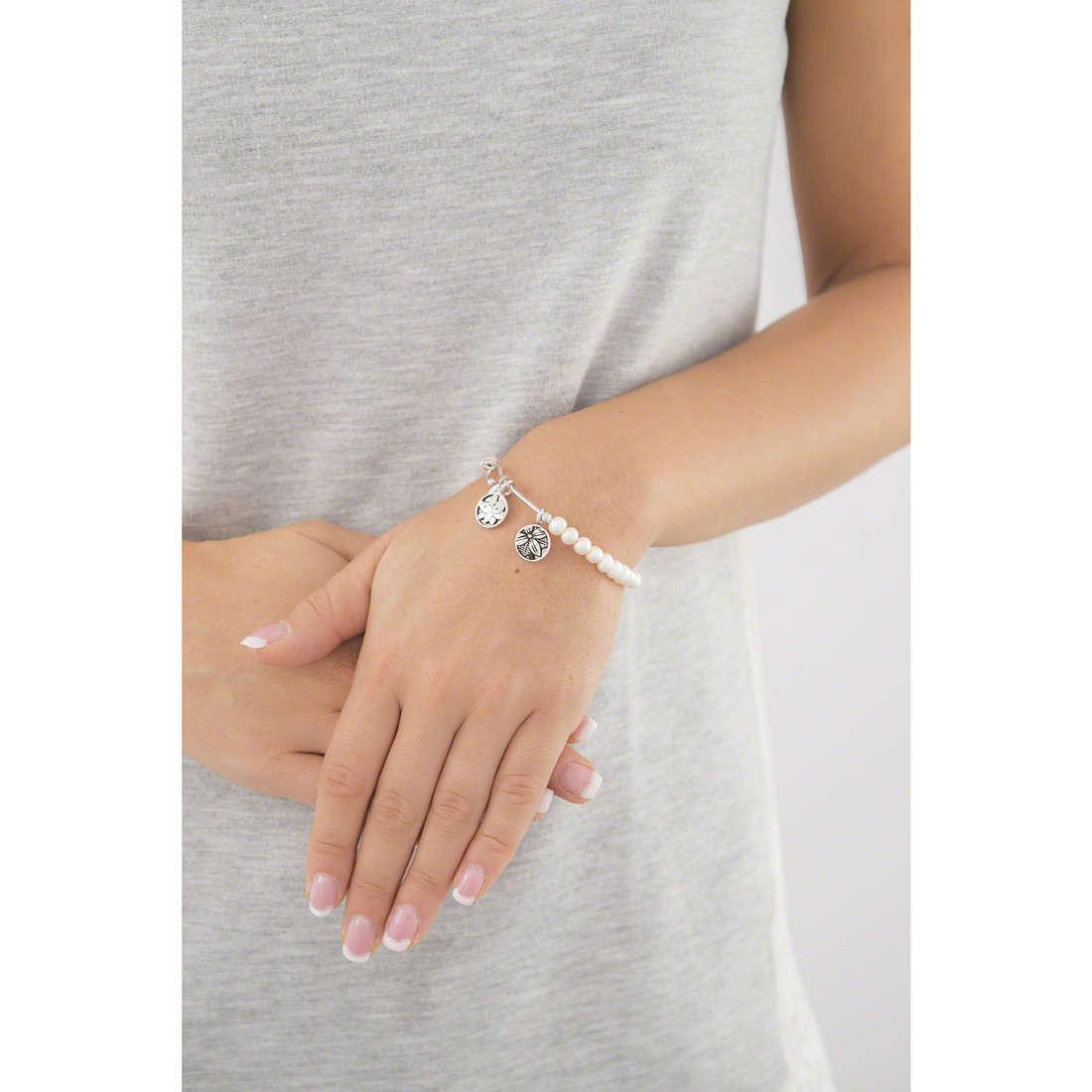 Chrysalis bracciali donna CRBH0010WP indosso