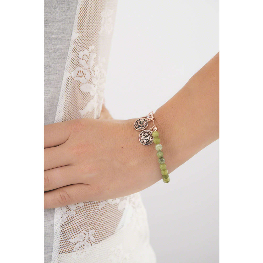 Chrysalis bracciali donna CRBH0107RG indosso
