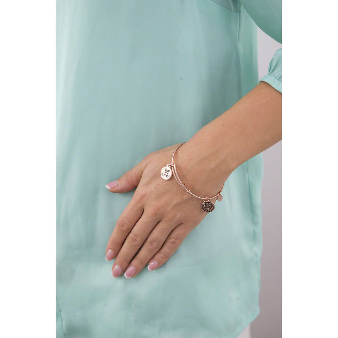 Chrysalis bracciali donna CRBT0304RG indosso