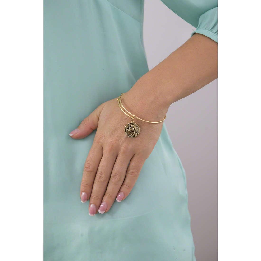 Chrysalis bracciali donna CRBT0608GP indosso