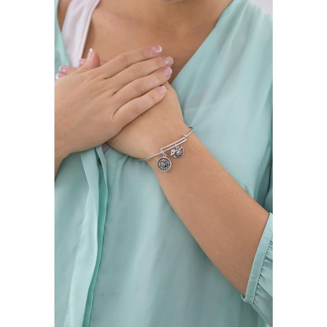 Chrysalis bracciali donna CRBT0711SP indosso