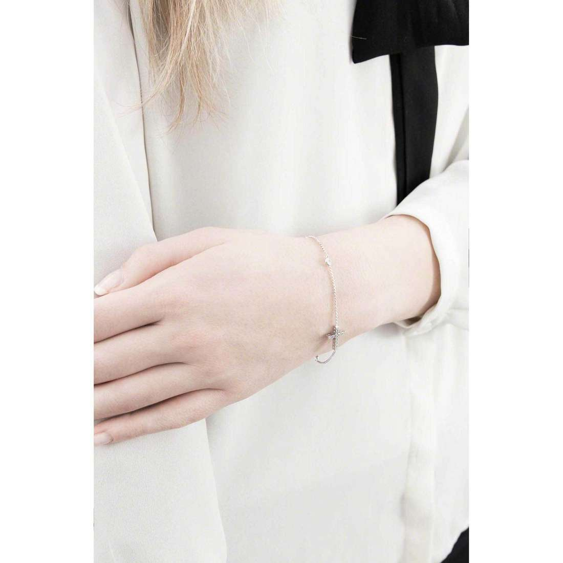 Comete bracciali Holy donna BRA 119 indosso
