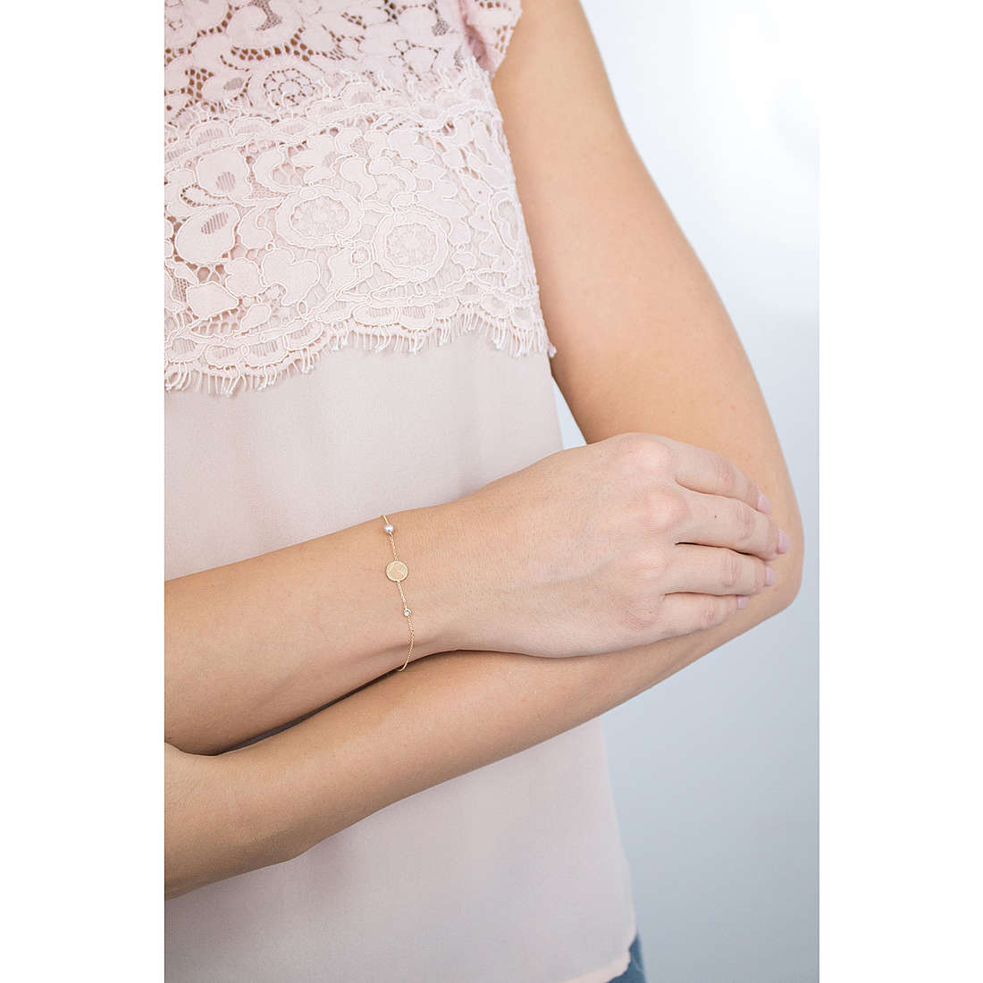 Comete bracciali Cerimony donna BRP 161 indosso
