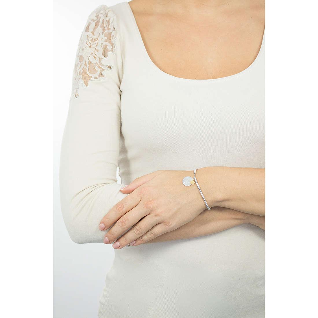 Comete bracciali Love Tag donna BRA 144 indosso