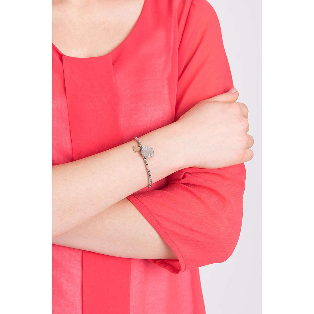 Comete bracciali Love Tag donna BRA 148 indosso