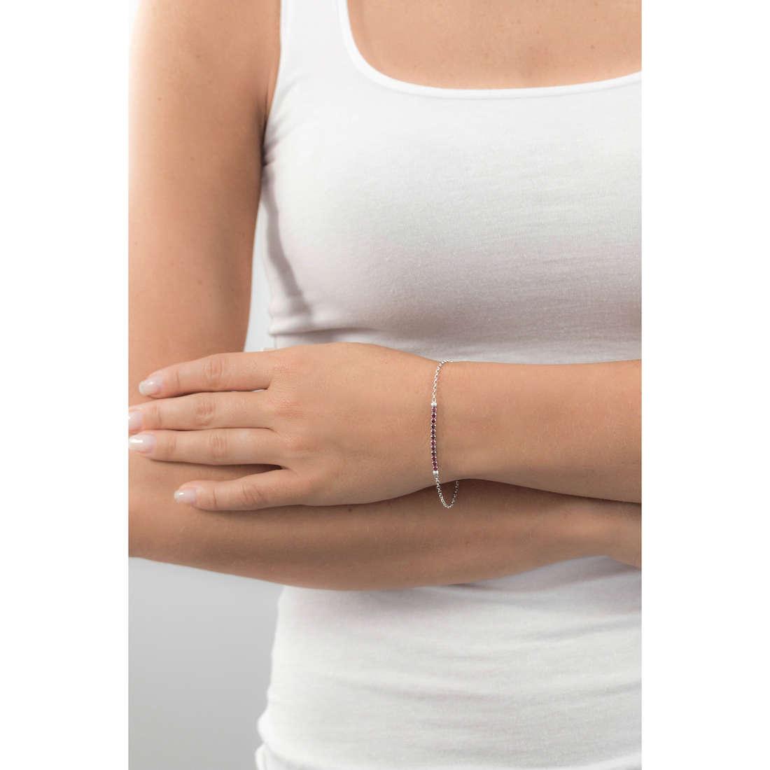 GioiaPura bracciali donna GPSRSBR1801 indosso