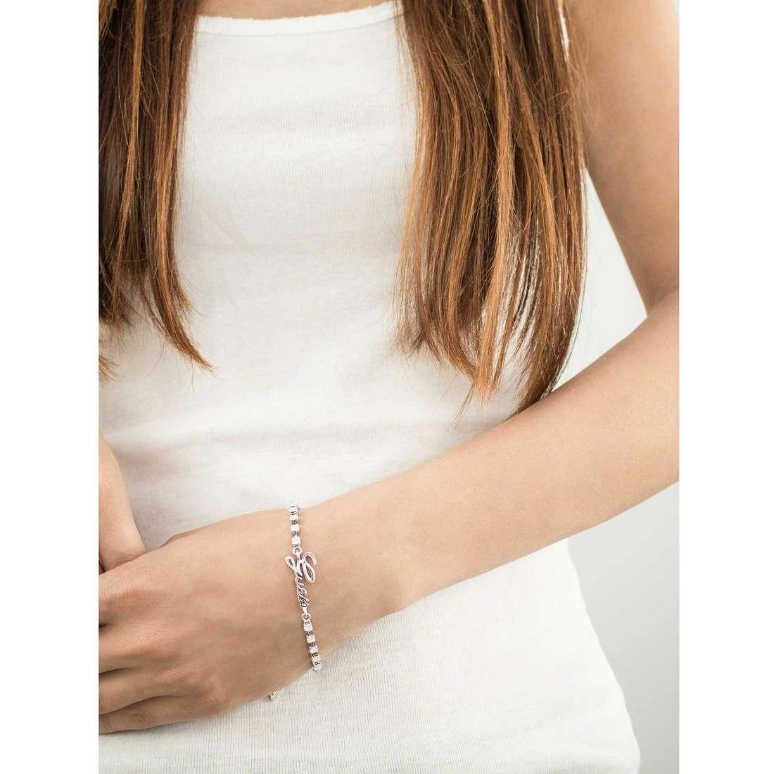 Guess bracciali donna UBB61086-S indosso