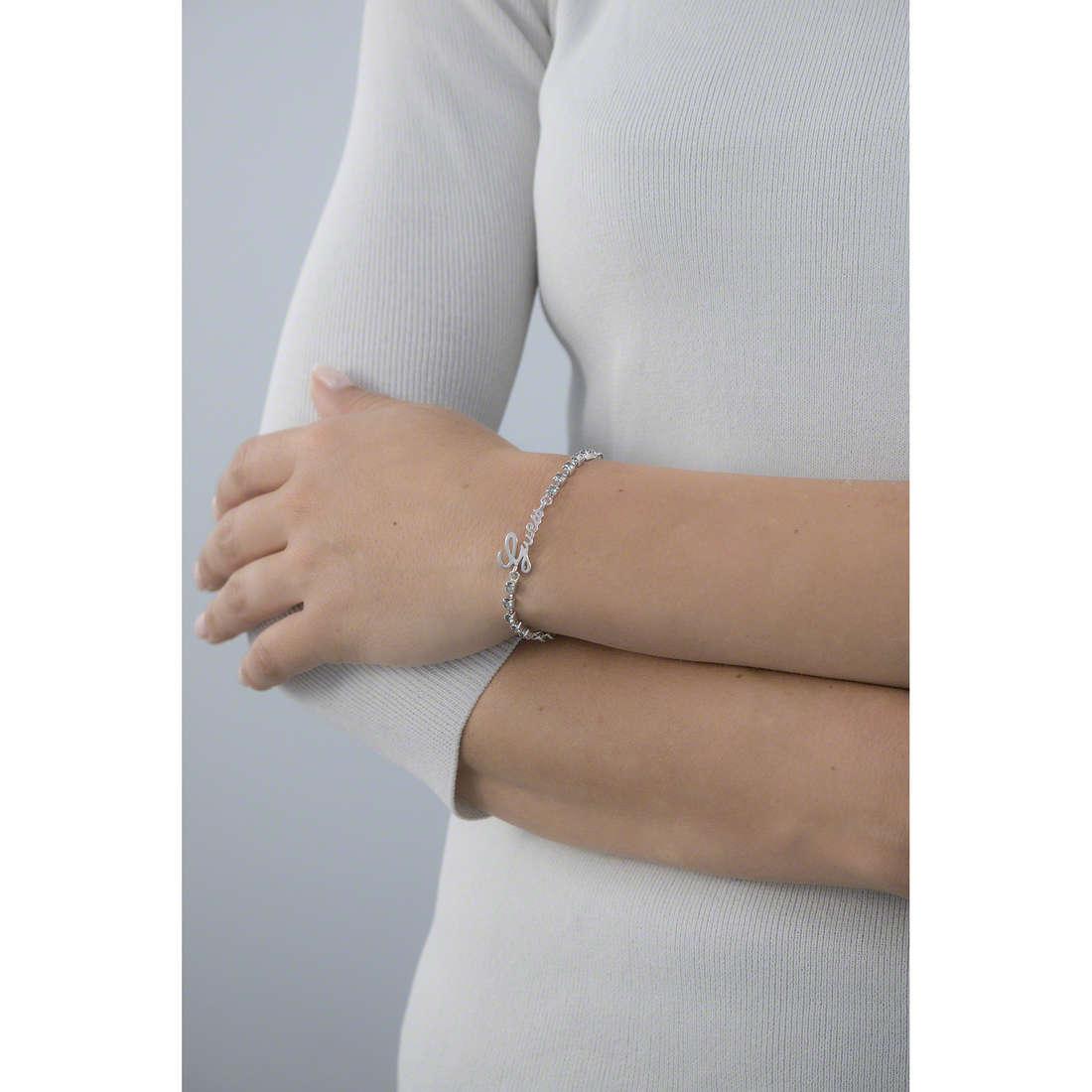 Guess bracciali donna UBB61087-S indosso