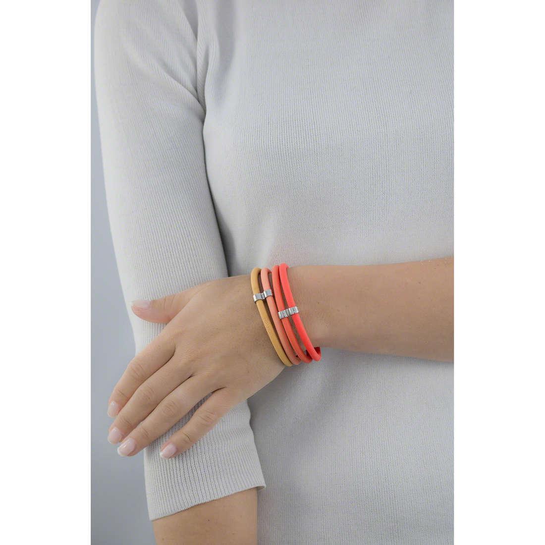 Hip Hop bracciali Happy Loops donna HJ0034 indosso