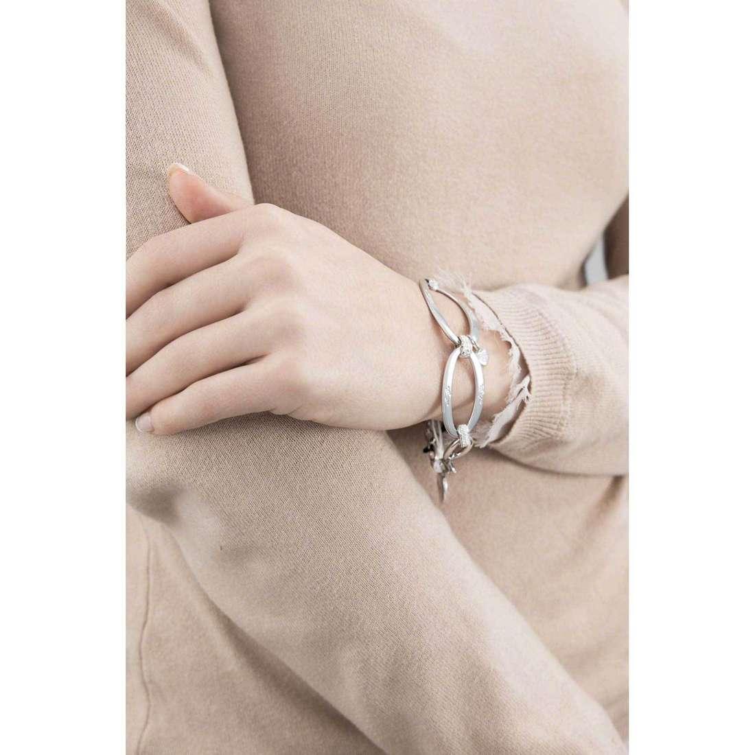 Liujo bracciali Dolceamara donna LJ831 indosso