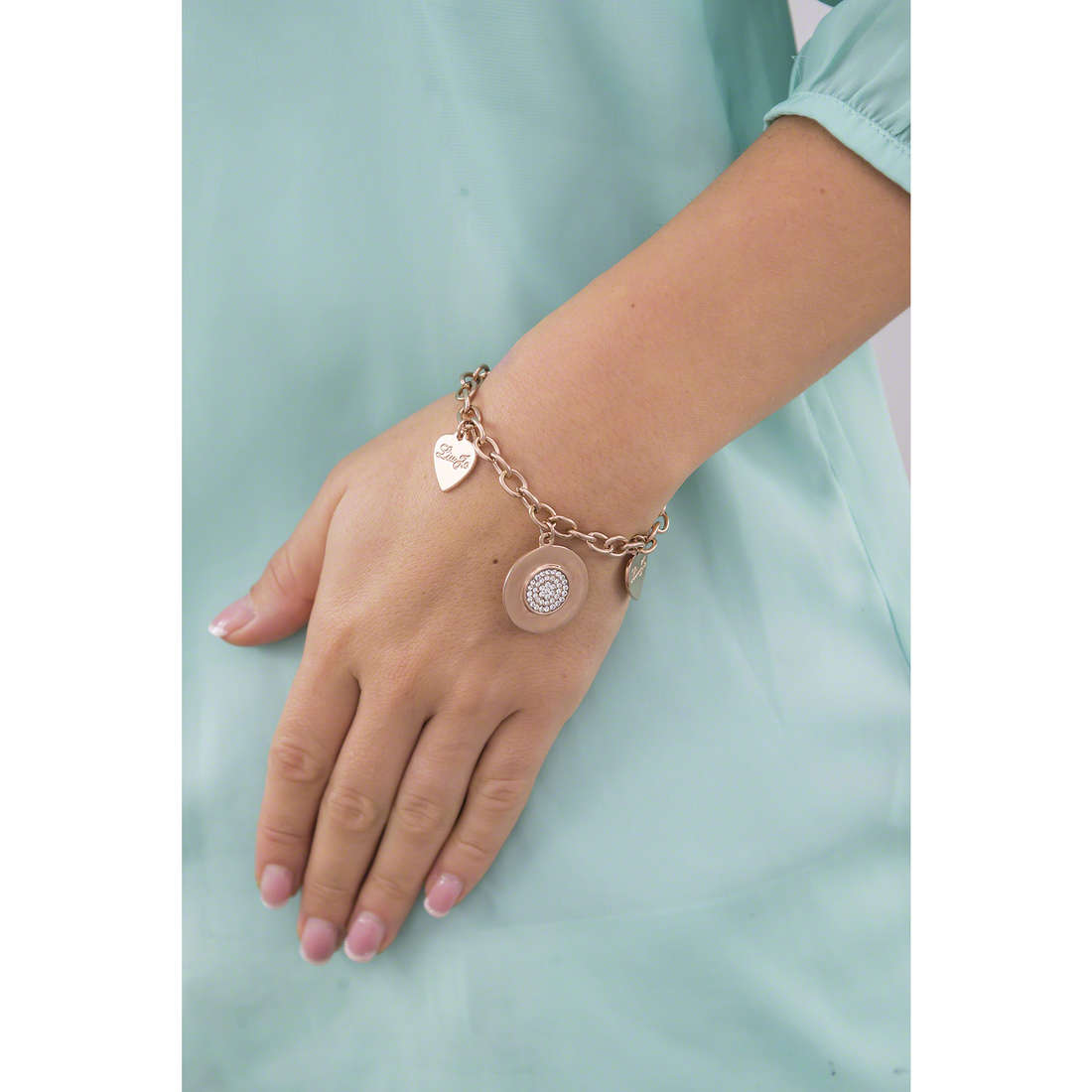 Liujo bracciali Destini donna LJ981 indosso