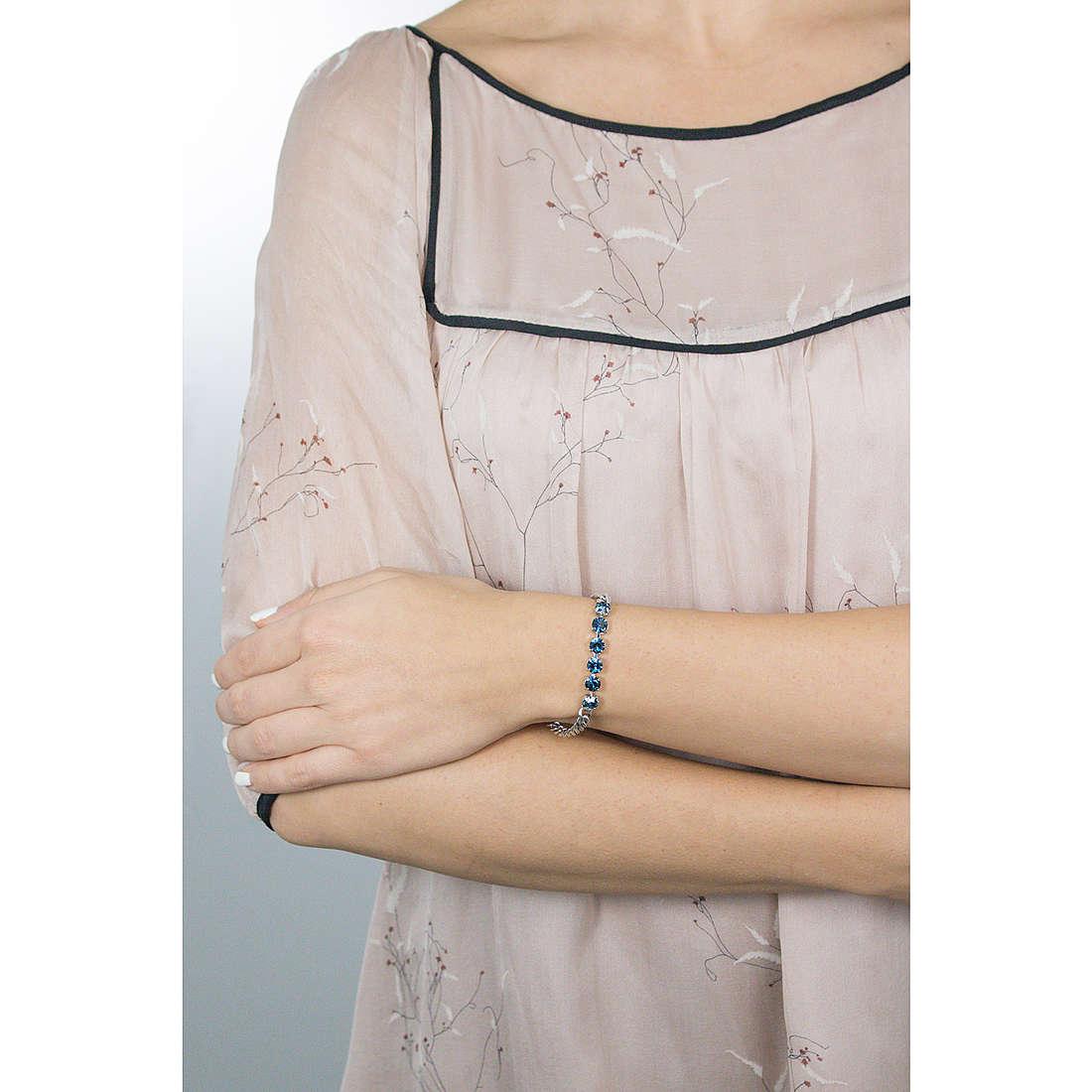 Luca Barra bracciali Carolyn donna LBBK1113 indosso