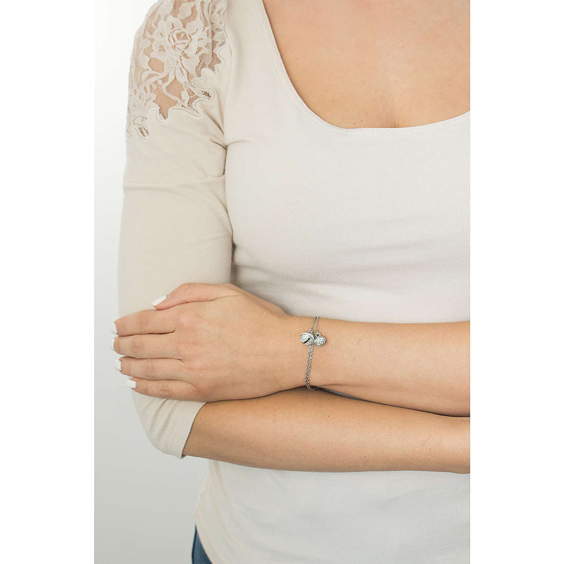 Luca Barra bracciali Giuly donna LBBK1087 indosso
