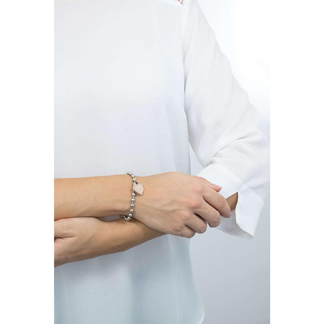 Luca Barra bracciali donna LBBK1194 indosso